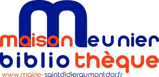logo maison meunier bibliothèque vectorisé